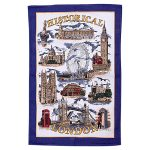 London Souvenir Tea Towel
