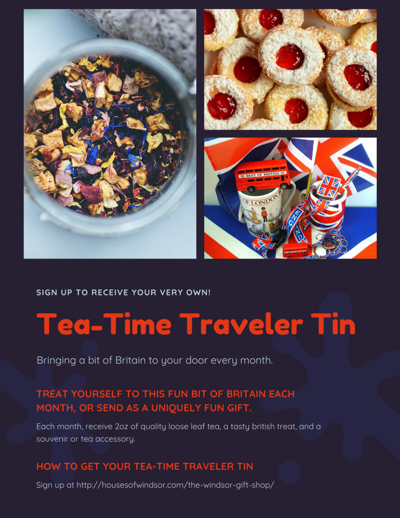 Tea-Time Traveler Tin