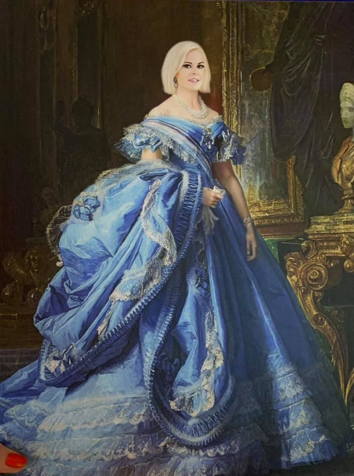 Lady Amy Royal Portrait