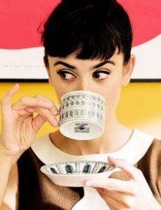 Etiquette Tip of the Month: Pinky Up or Down?