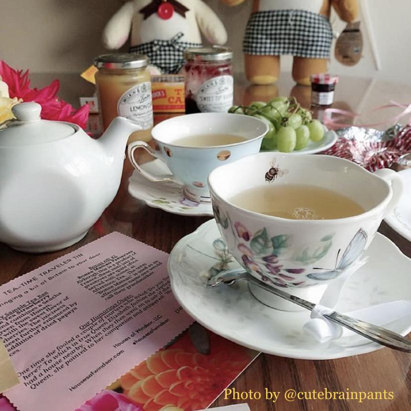 Tea-Time Traveler Tin